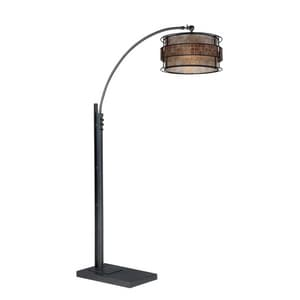 Quoizel 76 in. 150W 1-Light Table Lamp in Brown QQ4574A