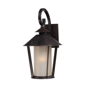 Quoizel Anderson 1-Light Outdoor Wall Lantern in Kingsley QAND8412KG
