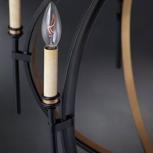 Eurofase Infinity 7 in. 60W 1-Light Candelabra E-12 Incandescent Mini Pendant in Oil Rubbed Bronze E25645019