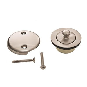 Trim to the Trade Lift & Turn Drain in Satin Nickel T4T1902C