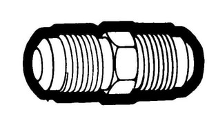 Holyoke Fittings 1/4 in. Straight Brass Union H424