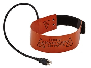 CPS Products 110V Refrigerant Cylinder Heater Strap CCCXHB