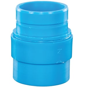 Orion Fittings 2 in. Duriron x Spigot Mechanical Joint Straight Polypropylene Adapter O710117