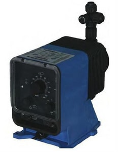Pulsafeeder Pulsatron® 6 gpd 150 psi PVC and PTFE Automatic Control Metering Pump PLPA2MAVVC9XXX