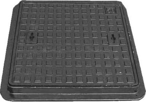 San Diego Precast Concrete Cast Iron Cover Only SD1ACCIWATER