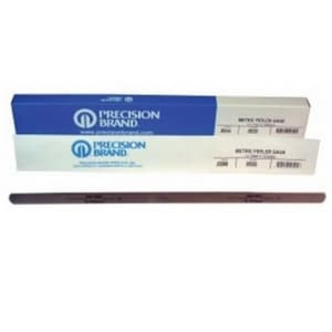 Precision Brand Products 12 x 0.020 x 1/2 in. Steel Feeler Gauge P19595