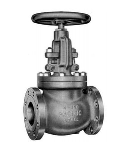 Pacific Valves Tufline® 2 in. Monel Nickel Alloy 300 psi Flanged Wrench Plug Valve P036739P1WHFK