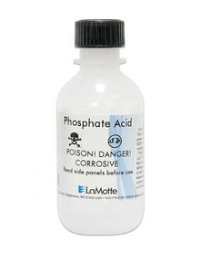 Lamotte 30ml Phosphate Acid Reagent Refill for 3121 and 3114 Phosphate Test Kits LV6282G at Pollardwater