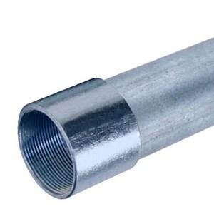 Conduit Pipe Products 4 in. Galvanized Rigid Conduit Pipe RCONP
