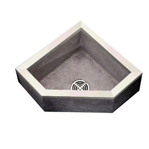 Fiat Products Stockton 32 x 32 in. Mop Basin in Grey FTSBC6011