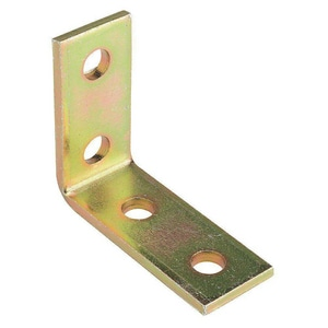 Power Utility Products 90 Degree Elbow Bracket in Gold PAS607GD