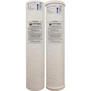 O3 Water Systems 6 gpm Sediment Filter with Polyhalt Water Softener System OICSSP06