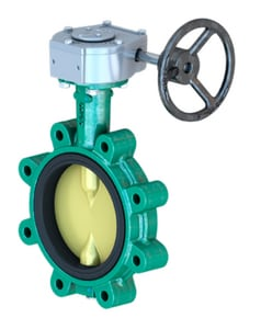Series NE-C 3 in. Ductile Iron EPDM Locking Lever Handle Butterfly Valve D221215112351