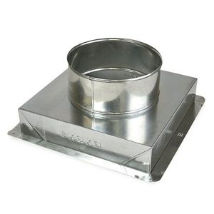 Gray Metal South 10 x 10 in. Register Box G10X10320NO