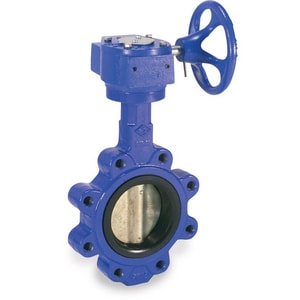 ABZ Manufacturing 397 Series 10 in. Cast Iron EPDM Bare Stem Butterfly Valve AA39781510