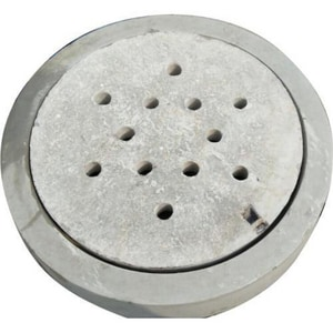 Brooks Products 7-3/4 in. Concrete Round Cover Only for Sewer B1RDSCONLY