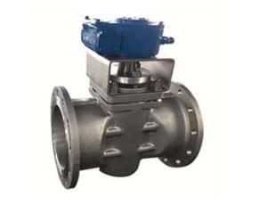Model 800 8 in. Cast Carbon Steel 600 psi Flanged Gear Operator Plug Valve TCA841755GVFRX