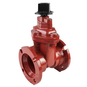 Southern Valve & Fitting USA 806 Series 3 in. Mechanical Joint Ductile Iron Open Left Resilient Wedge Gate Valve SOU8060