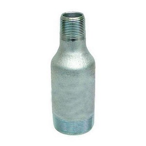 1-1/2 in. Galvanized Concentric Swage Nipple G80X160TXTCSNJF