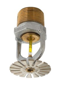 Globe Fire Sprinkler Corporation GL Series 3/4 in. NPT 155F 11.2 K-Factor Pendent Sprinkler Head in Chrome GGL111215502