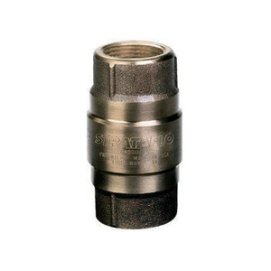 Strataflo Products 400 Series 1-1/2 in. FIP Cast Bronze 200# WOG Water Service Check Valve S400J