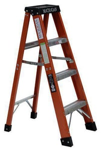 Michigan Ladder 8 ft. Type 1A Fiberglass Ladder M3717