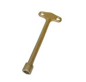 Gene Rich & Co. 6 in. Brass Furnace Key G1217