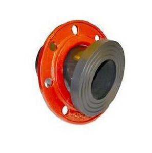 Improved Piping Products 24 in. Straight SDR 17 125 psi Ductile Iron Convoluted Back-Up Ring IBUPSDR1724B