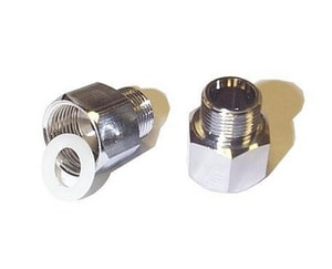 3/8 in. Compression x Flared Brass Adapter G654LF