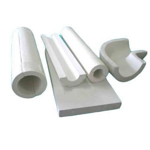 Insulated Pipe Shields 1 x 1 in. IPS Wall Calcium Silicate Insulation ICSIS1