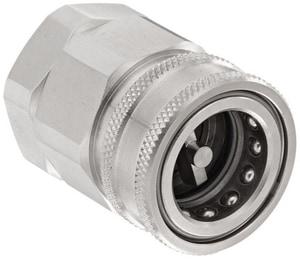 Snap-Tite 1-1/4 in. Quick Disconnect Stainless Steel Coupling SSVHC2020FEPS