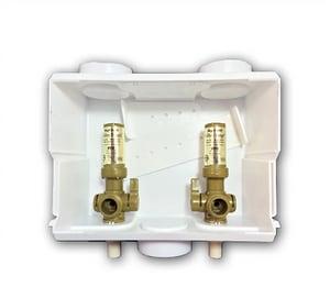 Ayrlett Air Valve Multi-Pro™ 8-2/5 in x 6-31/50 in x 3-4/5 in Washing Machine CPVC Supply Box A2283