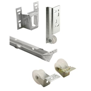 Primeline Products 22-5/8 in. Metal Drawer Track Replacement Kit PMP7137