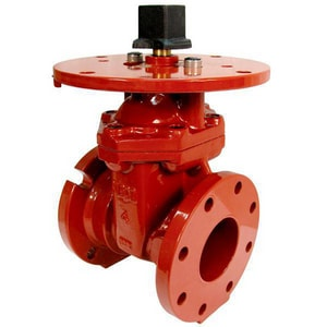 American AVK Co. Series 65 12 in. Ductile Iron Mechanical Joint x Flanged Gate Valve A653003X