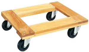 Walter Meier 30 x 18 in. Open Style Hardwood Dolly W140101