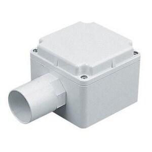 Marshall-Tufflex 106 x 106 x 67 mm. PVC Moulded Enclosure Unit in White MMTAB100AW