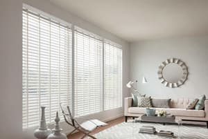 22 x 72 in. 2 in. Faux Wood Blind in White LFC2272WH