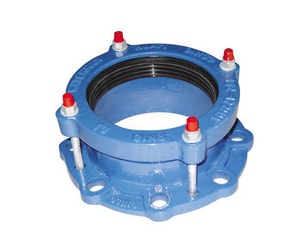Sigma Sigmaflange™ 12 in. Ductile Iron Wedge Action Flanged Universal Joint with SBR Rubber O-Ring SSFUP12