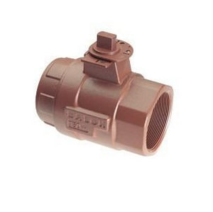 Balon Corporation Series S 4 in. Ductile Iron Full Port FNPT 500# Ball Valve B4FS22SEP