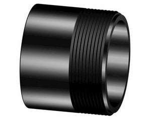 1-1/2 x 6 in. NPT Schedule 160 Seamless Black Carbon Steel Nipple B160SNPXTJU