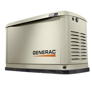 Generac Power Systems Guardian® 9kW Aluminum Enclosure Air-Cooled Generator with Wi-Fi G70291