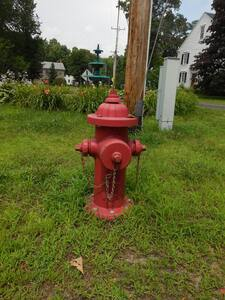 Medallion 5 ft. Flanged, Mechanical Joint and Tyton Joint Assembled Fire Hydrant CF2545412LAOLSTUC