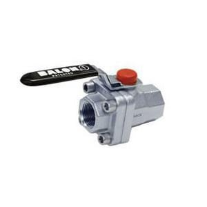 Balon Corporation F Series 1 in. 316 SS Stainless Steel Full Port Threaded Ball Valve B1FF03NSE