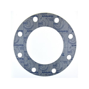 Garlock Blue-Gard® 1 x 1/8 in. 700# Fiber Full Face Gasket G3400FF150AL