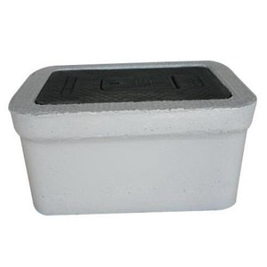 Old Castle Precast 30 in. Concrete Water Meter Box O3702200