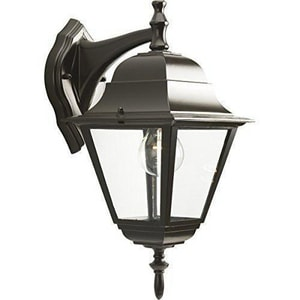 Homestyle Lighting 15-5/8 in. 100W 1-Light Outdoor Wall Lantern in Bronze HHS71007125