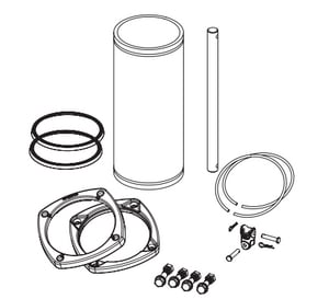 American AVK Co. 18 in. Extension Kit for Dry Barrel Hydrant A2715070200