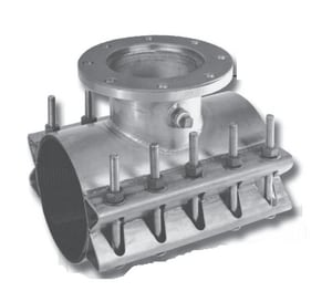 Cascade Waterworks 10 x 10 x 6 in. Stainless Steel Tapping Sleeve 11.10 - 10.75 in. CCSTEX11106SS
