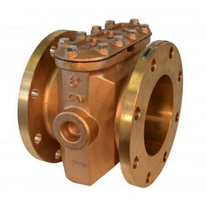 Zenner Model ZSB 4 in. Bronze Strainer ZZSB04 at Pollardwater