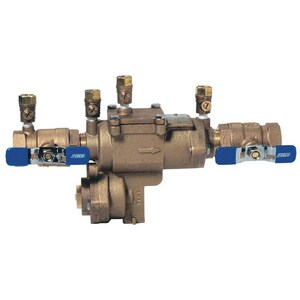 Febco Series LF860 4 in. Fusion Bonded Epoxy Coated Ductile Iron Flanged 175 psi Backflow Preventer FLF860OSYRPP